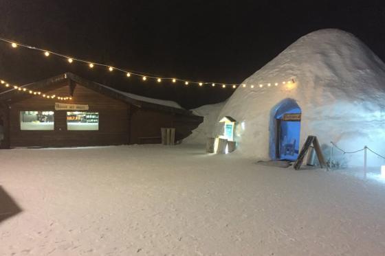 Menu Fondue dans un igloo -  Pour 2 personnes, à Leysin (VD) 11 [article_picture_small]