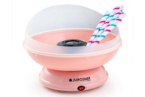 Zuckerwatte Maschine - in pink