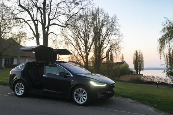 1 Tag Tesla mieten -  inkl. 250km Model X 100D 2 [article_picture_small]