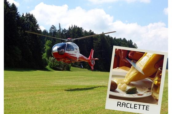 Hélico & Raclette   - Vol en hélico + Raclette à gogo  [article_picture_small]