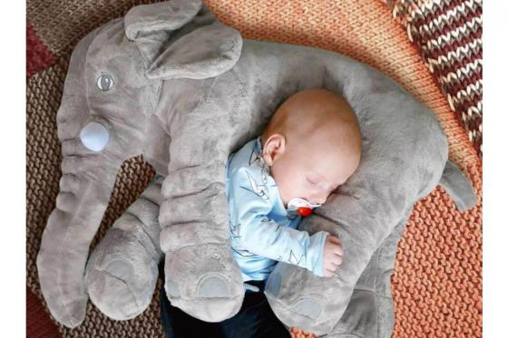 Elefantenkissen - perfekt für Babies