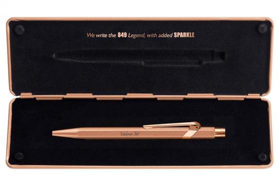 Caran d'Ache Kugelschreiber mit Etui - mit Gravur - 849 Roségold 1