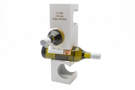 Porte-bouteilles   - avec gravure