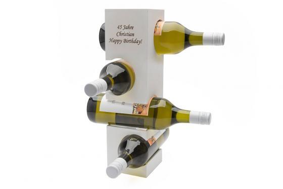 Porte-bouteilles   - avec gravure 1