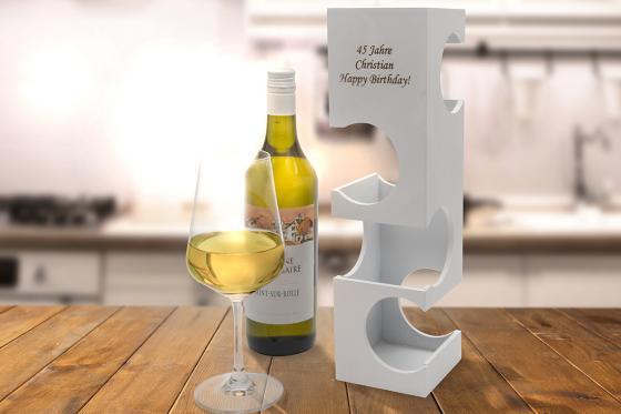 Porte-bouteilles   - avec gravure 3