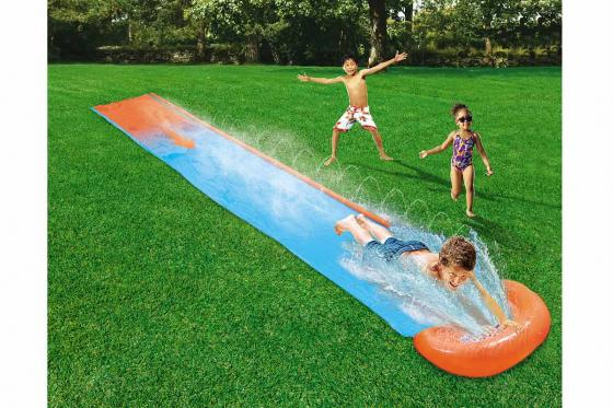 Toboggan aquatique H2OGO! - Single Slide, Bestway, 5.49m