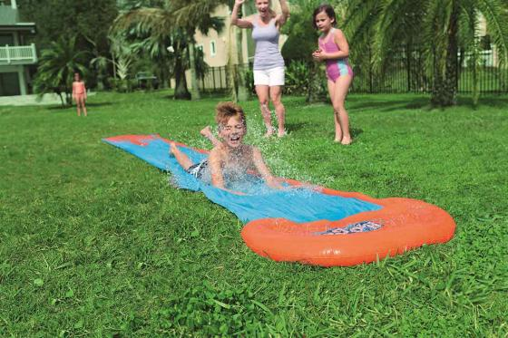 Toboggan aquatique H2OGO! - Single Slide, Bestway, 5.49m 2