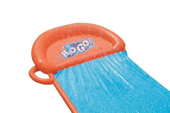 Toboggan aquatique H2OGO! - Single Slide, Bestway, 5.49m 5