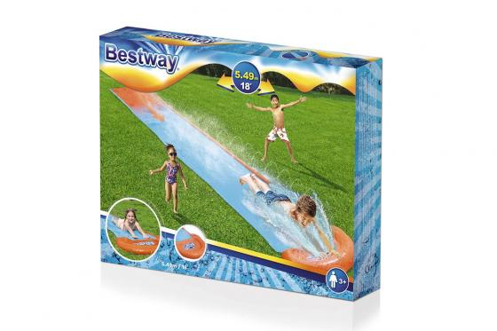 Toboggan aquatique H2OGO! - Single Slide, Bestway, 5.49m 7
