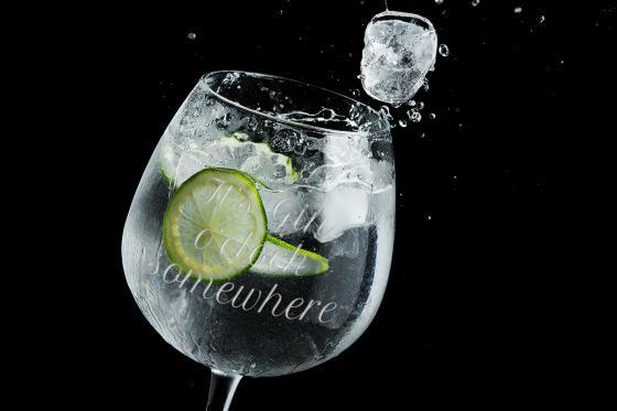 XL Gin Glas - mit Gravur