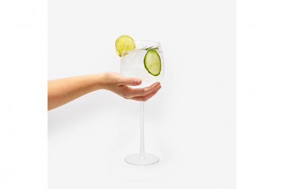 XL Gin Glas - mit Gravur 2