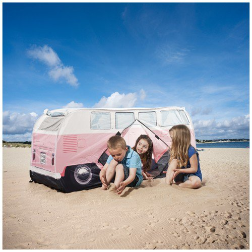 mini tente bus vw bleu pour les petits fans de vw. Black Bedroom Furniture Sets. Home Design Ideas