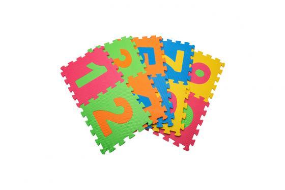 Tapis de jeu souple - alphabet & chiffres 1