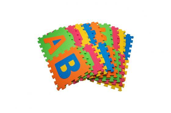 Tapis de jeu souple - alphabet & chiffres 4