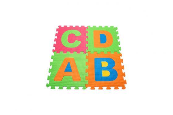 Tapis de jeu souple - alphabet & chiffres 5