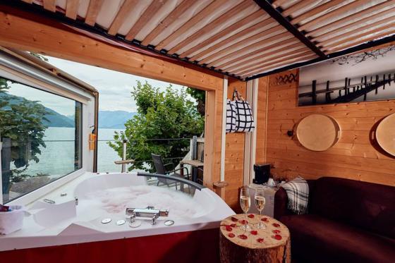 Capanna in albero - Con jacuzzi, colazione e cena a 4 portate  [article_picture_small]