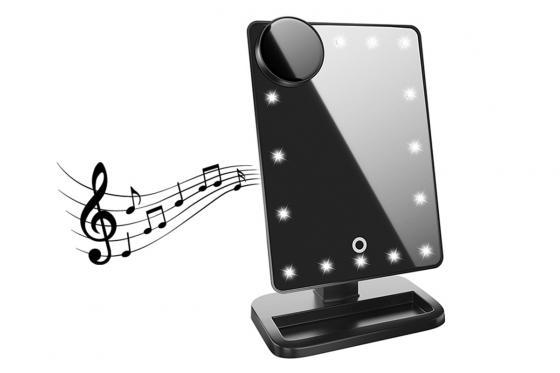 LED Schminkspiegel - Mit Lautsprecher