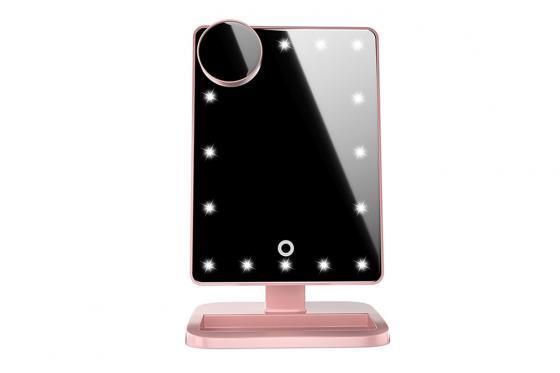 Miroir make-up LED - Avec enceinte 3