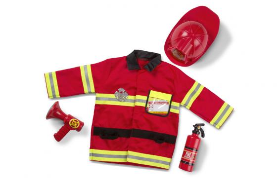 Capitaine des Pompiers - Déguisement