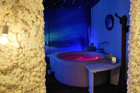 Spa privatif romantique - Moment de détente pour 2 personnes | Matin et après-midi  [article_picture_small]