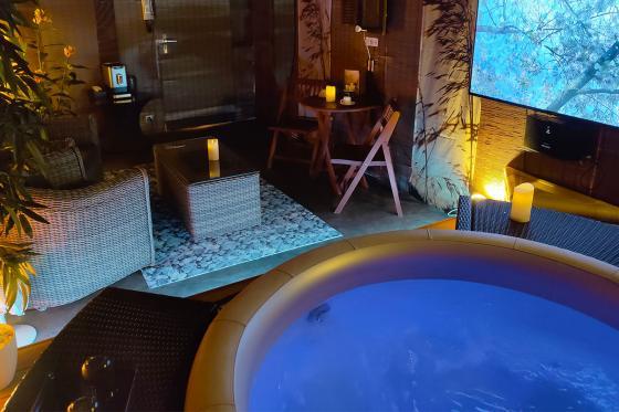 Spa privatif romantique - Moment de détente pour 2 personnes | Matin et après-midi 1 [article_picture_small]