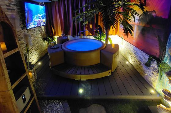 Privater Romantik-Spa  - Entspannung pur für 2 Personen   Morgens und Nachmittags 7 [article_picture_small]