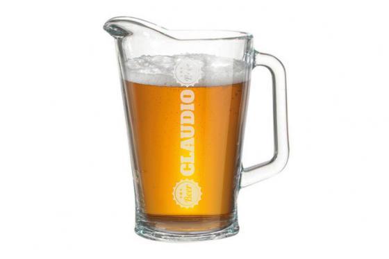 Bierkrug mit Gravur - 1.8 l