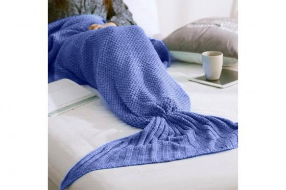 Mermaid Kuscheldecke - Blau