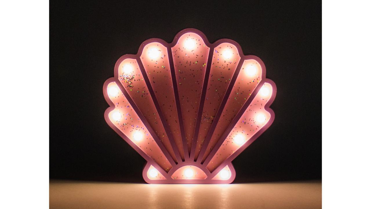 Lampe CmCadeaux24 3 X 5 Coquillage Led23 21 76gfbYy