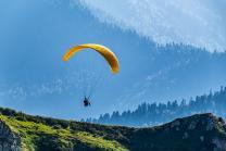 Gleitschirmfliegen - Panoramaflug Kronberg