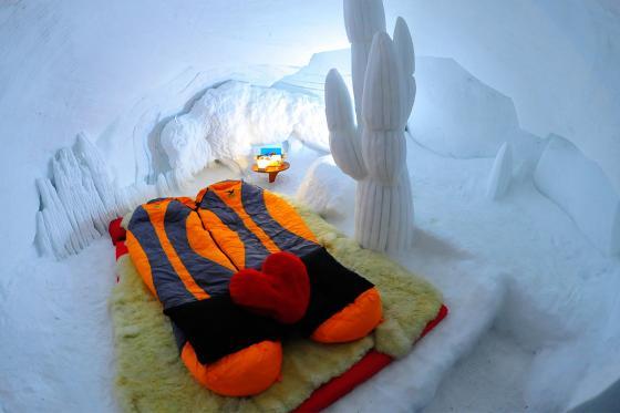 Romantik Iglu für 2 - in Davos, Zermatt oder Gstaad inkl. Fondueplausch  [article_picture_small]