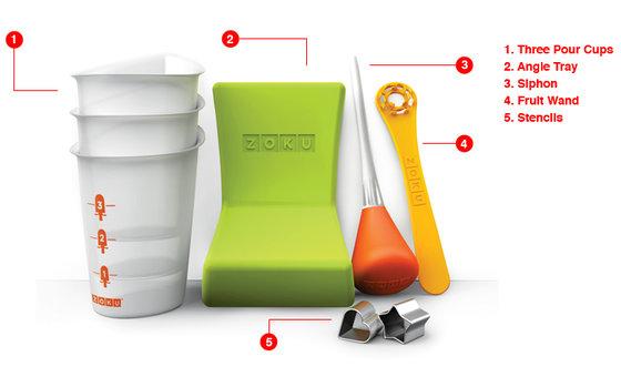 Werkzeug Set - für die ZOKU Glacémaschine 2
