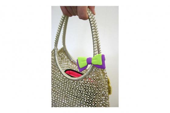 Taschen Hänger - Schleife, diverse Farben 3