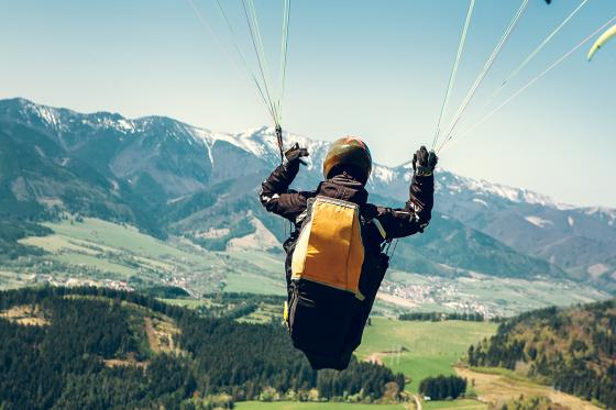Gleitschirmfliegen - Panoramaflug Hoher Kasten  [article_picture_small]