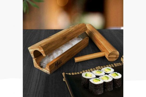 Sushi Maker ''Maki Master'' - aus Bambus