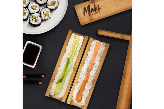 Sushi Maker ''Maki Master'' - aus Bambus 1