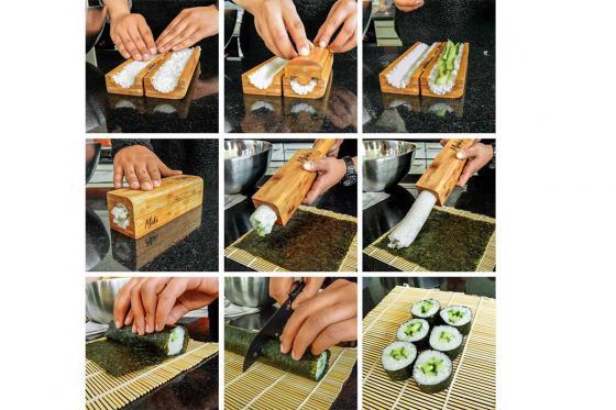 Sushi Maker ''Maki Master'' - aus Bambus 3