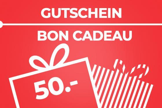 Geschenkgutschein 50.- - Wertgutschein 50 SFr.  [article_picture_small]