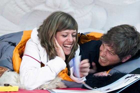 Iglu Übernachtung für 2 - Iglu Erlebnis in Gstaad  [article_picture_small]