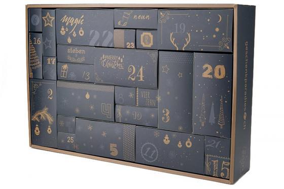 Männer-Adventskalender -  mit 25 Türchen