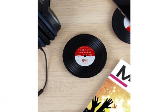 Smartphone Ladestation - Vinyl Schallplatten