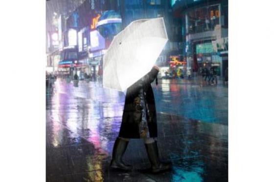 Regenschirm - reflektierend