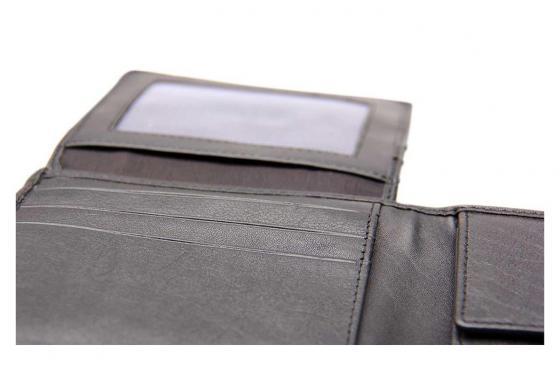 Leder Portemonnaie - mit Lasergravur 2