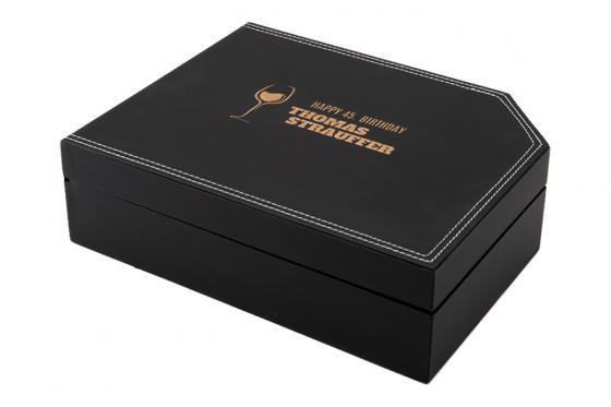 Wein Accessoire-Set Premium - mit Gravur 1