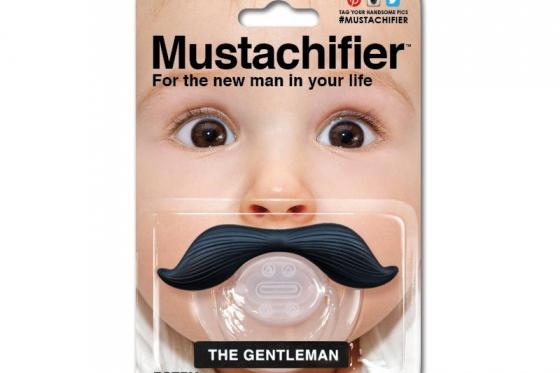 Lolette pour bébé - Moustache Gentleman
