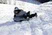 Airboarden im Schnee-einen halben Tag lang 3