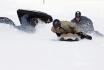 Airboarden im Schnee-einen halben Tag lang 4