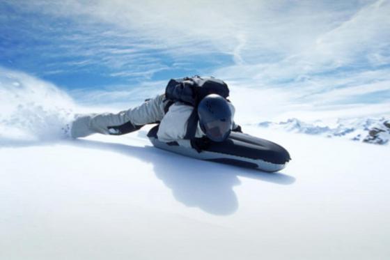 Airboarden im Schnee - einen halben Tag lang  [article_picture_small]