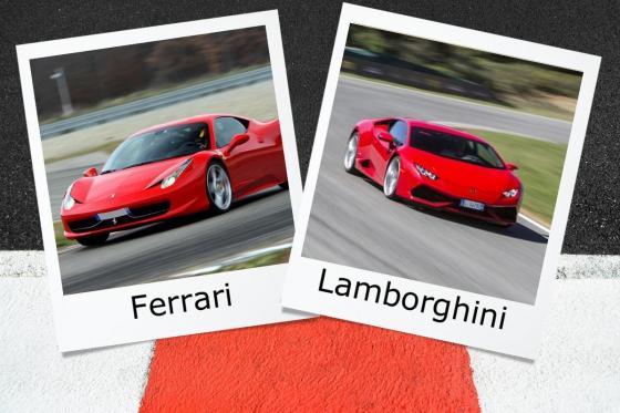 Ferrari oder Lamborghini - 2 Runden auf der Rennstrecke  [article_picture_small]