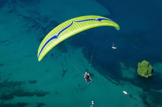 Vol en parapente  - Biplace dans la région du Léman pour 2 personnes  [article_picture_small]